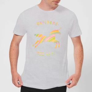 Florent Bodart Unicorns Are Real Men's T-Shirt - Grey