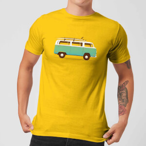 Florent Bodart Blue Van Men's T-Shirt - Yellow