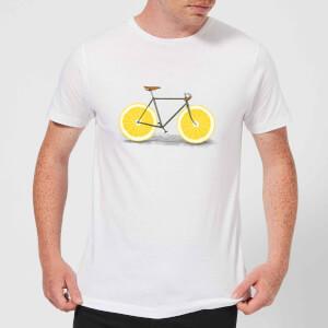Florent Bodart Citrus Lemon Men's T-Shirt - White