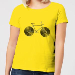 Florent Bodart Velophone Women's T-Shirt - Yellow