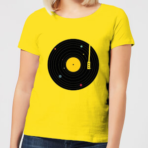 Florent Bodart Music Everywhere Women's T-Shirt - Yellow
