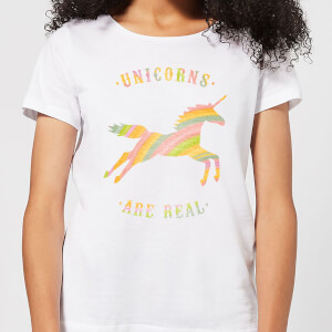 Florent Bodart Unicorns Are Real Women's T-Shirt - White