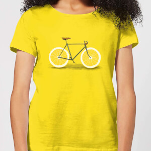 Florent Bodart Citrus Lemon Women's T-Shirt - Yellow