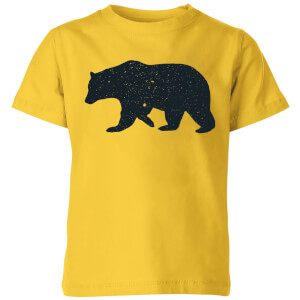 Florent Bodart Bear Kids' T-Shirt - Yellow