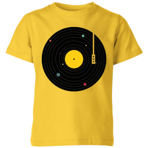 Florent Bodart Music Everywhere Kids' T-Shirt - Yellow