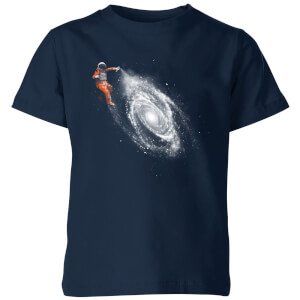 Florent Bodart Space Art Kids' T-Shirt - Navy