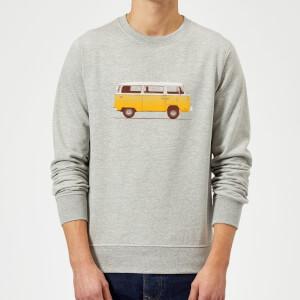 Florent Bodart Yellow Van Sweatshirt - Grey
