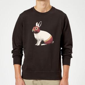 Florent Bodart Lapin Catcheur Sweatshirt - Black