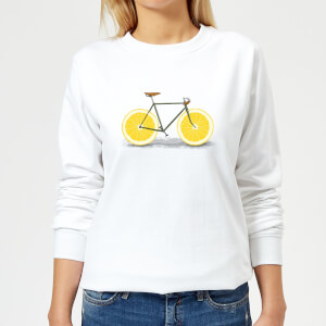 Florent Bodart Citrus Lemon Women's Sweatshirt - White