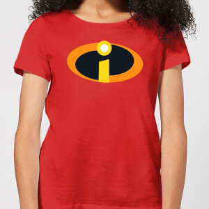 Incredibles 2 Logo Dames T-shirt - Rood