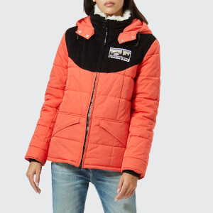 Golden Goose Deluxe Brand Women's Agena Winter Jacket - Coral