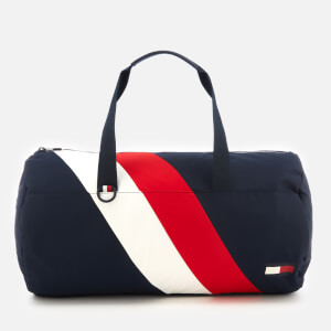 Tommy Hilfiger Men's Tommy Chevron Duffle Bag - Navy/Red/White