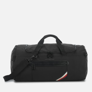 Tommy Hilfiger Men's Easy Nylon Holdall Bag - Black
