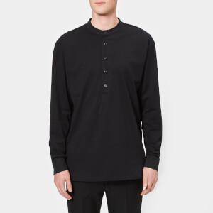 Lemaire Men's Jersey Shirt - Black