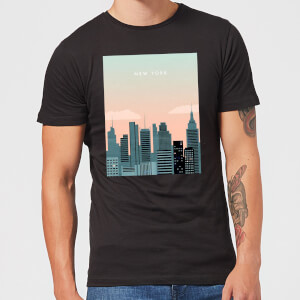 New York Men's T-Shirt - Black