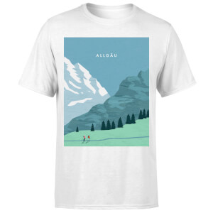 Algau Men's T-Shirt - White