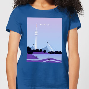 Munich Women's T-Shirt - Royal Blue