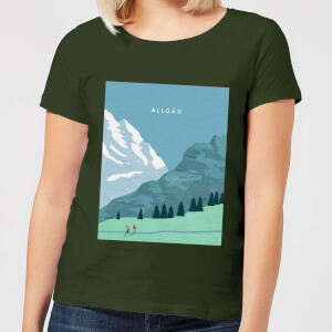 Algau Women's T-Shirt - Forest Green