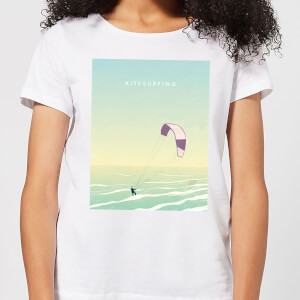 Kitesurfing Women's T-Shirt - White