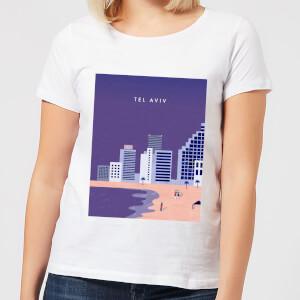 Tel Aviv Women's T-Shirt - White