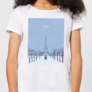 Paris Women's T-Shirt - White
