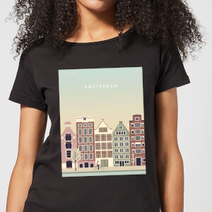 Amsterdam Women's T-Shirt - Black