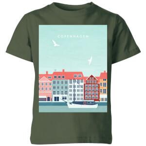 Copenhagen Kids' T-Shirt - Forest Green