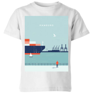 Hamburg Kids' T-Shirt - White