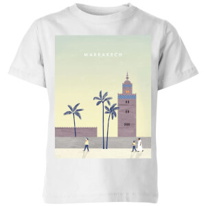 Marrakech Kids' T-Shirt - White