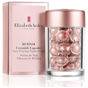 Elizabeth Arden Retinol Ceramide Capsules Line Erasing Night Serum – 30 Pieces (Sleeved Version)