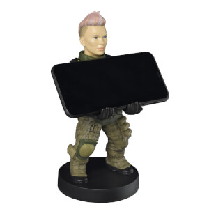 Call of Duty Black Ops Collectible Battery 8 Inch Cable Guy Controller and Smartphone Stand