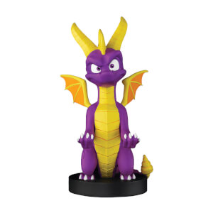 Spyro the Dragon Collectible 8 Inch Cable Guy Controller and Smartphone Stand