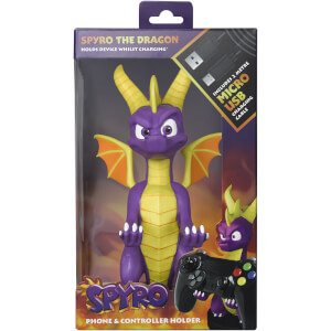 Spyro the Dragon Collectable 8 Inch Cable Guy Controller and Smartphone Stand