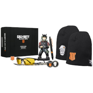 Call of Duty Black Ops IV Collectable Big Box - Includes Mini Cable Guy
