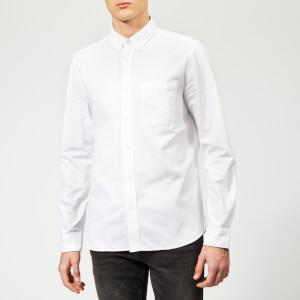 HUGO Men's Ermann Oxford Shirt - Open White