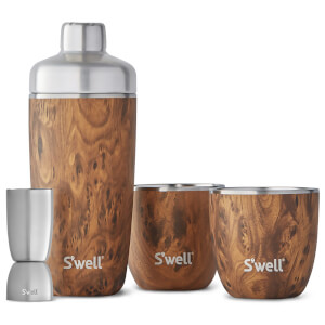 S'well Teakwood Barware Set