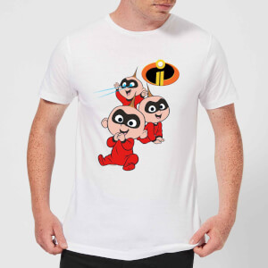 Incredibles 2 Jack Jack Poses Men's T-Shirt - White