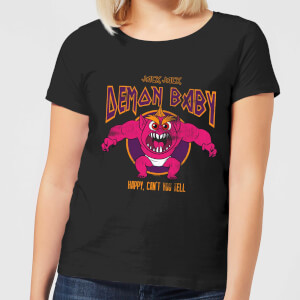 T-Shirt Femme Jack Jack Bébé Démon Les Indestructibles 2 - Noir