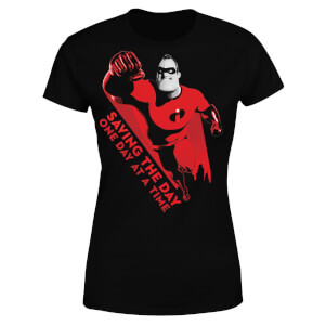 Incredibles 2 Saving The Day Women's T-Shirt - Black