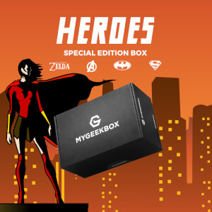 My Geek Box - Heroes Box - Women's - L
