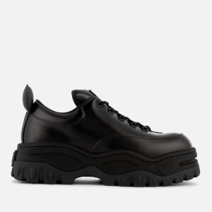 Eytys Angel Leather Chunky Trainers - Black
