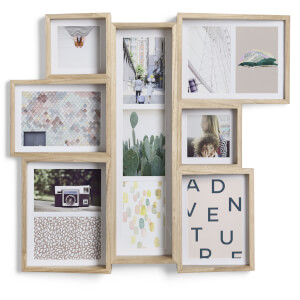 Umbra Edge Multi Wall Photo Display - Natural