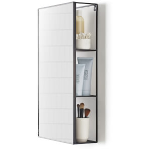 Umbra Cubiko Mirror - Black
