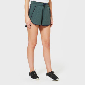LNDR Women's Jog Shorts - Dark Green
