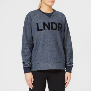 LNDR Women's Crew Neck Sweatshirt - Navy Marl