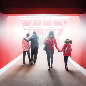 Family Liverpool FC Stadium Tour and Museum Entry