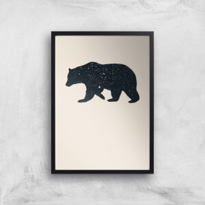 Florent Bodart Bear Art Print