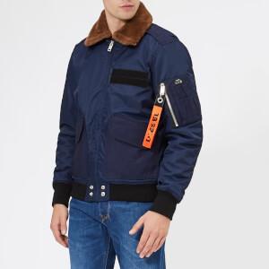 Diesel Men's W-Slotkin Bomber Jacket - Peacoat Blue