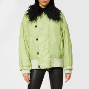 MM6 Maison Margiela Women's Short Coat - Pine