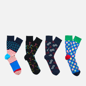 Happy Socks Men's 7 Day Gift Box - Multi - UK 7.5-11.5